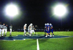 Carlmont High School field lights