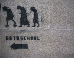 go-to-school-graffiti
