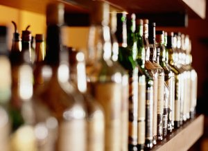 home bar -- popsugar
