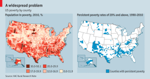 US Poverty by County