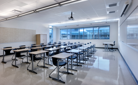 Cedar Ridge High Classroom