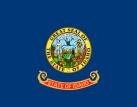 Idaho flag and seal