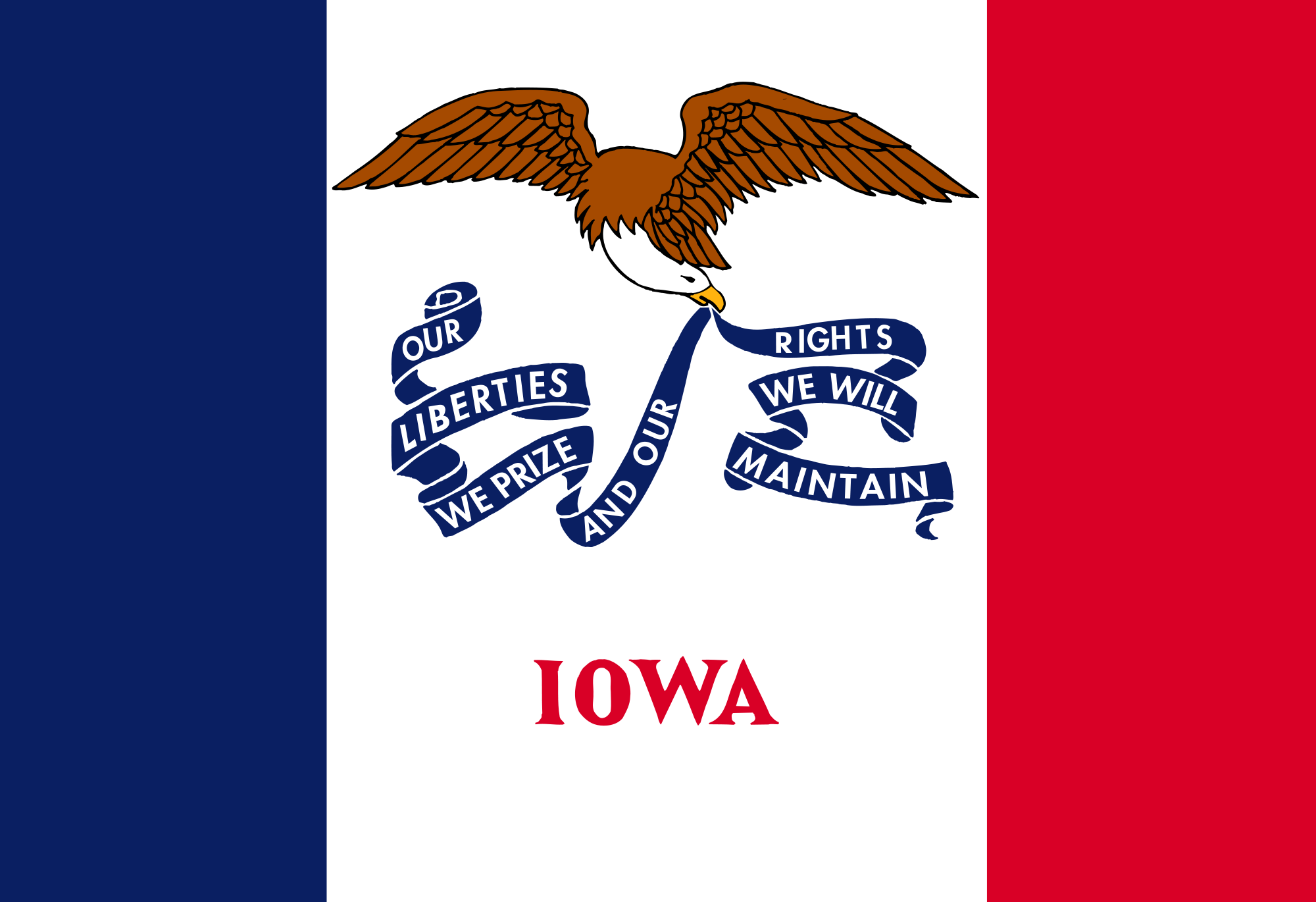 Alexander Barrington Parents Iowa Flag