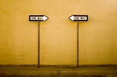 one-way-signs -- kennethehines