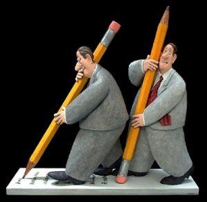 pencilpushers -- zenith gallery -- stephen hanson 2