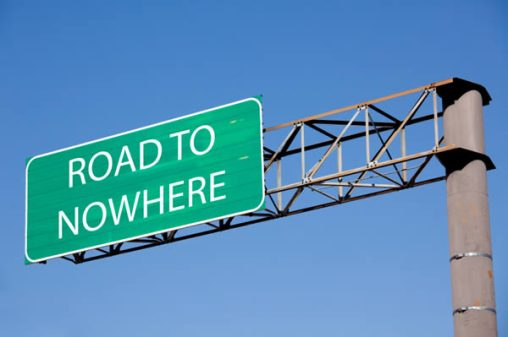 road-to-nowhere-sign envisionmedia
